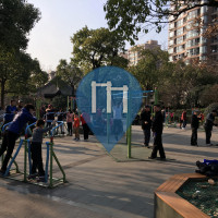 Shanghai - Monkeybar / Ginasio ao ar livre - Nanchezhan Rd