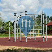 Pétfürdő - Street Workout Park - Hard Body Hang