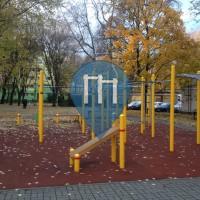Warschau - Street workout equipment - Tadeusza Gajcego