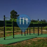 Limours - Воркаут площадка - Parc des Cendrieres