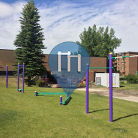 Calgary - Outdoor Fitness Park - Pump Hill