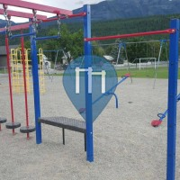 Golden - Playground with pull up bars - Canada