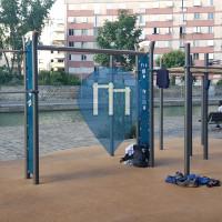 Parque Street Workout - Pantin - Street Workout Gym Pantin