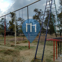 Mexico City - Outdoor Exercise Gym - Parque Cuitláhuac
