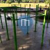Denpasar - Parc Musculation en plein air  - Lapangan Puputan Badung