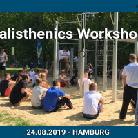 Calisthenics Workshop Hamburg powered by Playparc