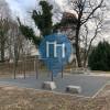 Berlin - Calisthenics Gerüst - Turnbar Fitness Park - Insel der Jugend