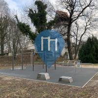 Berlim - Parque Calistenia - Turnbar Fitness Park - Insel der Jugend