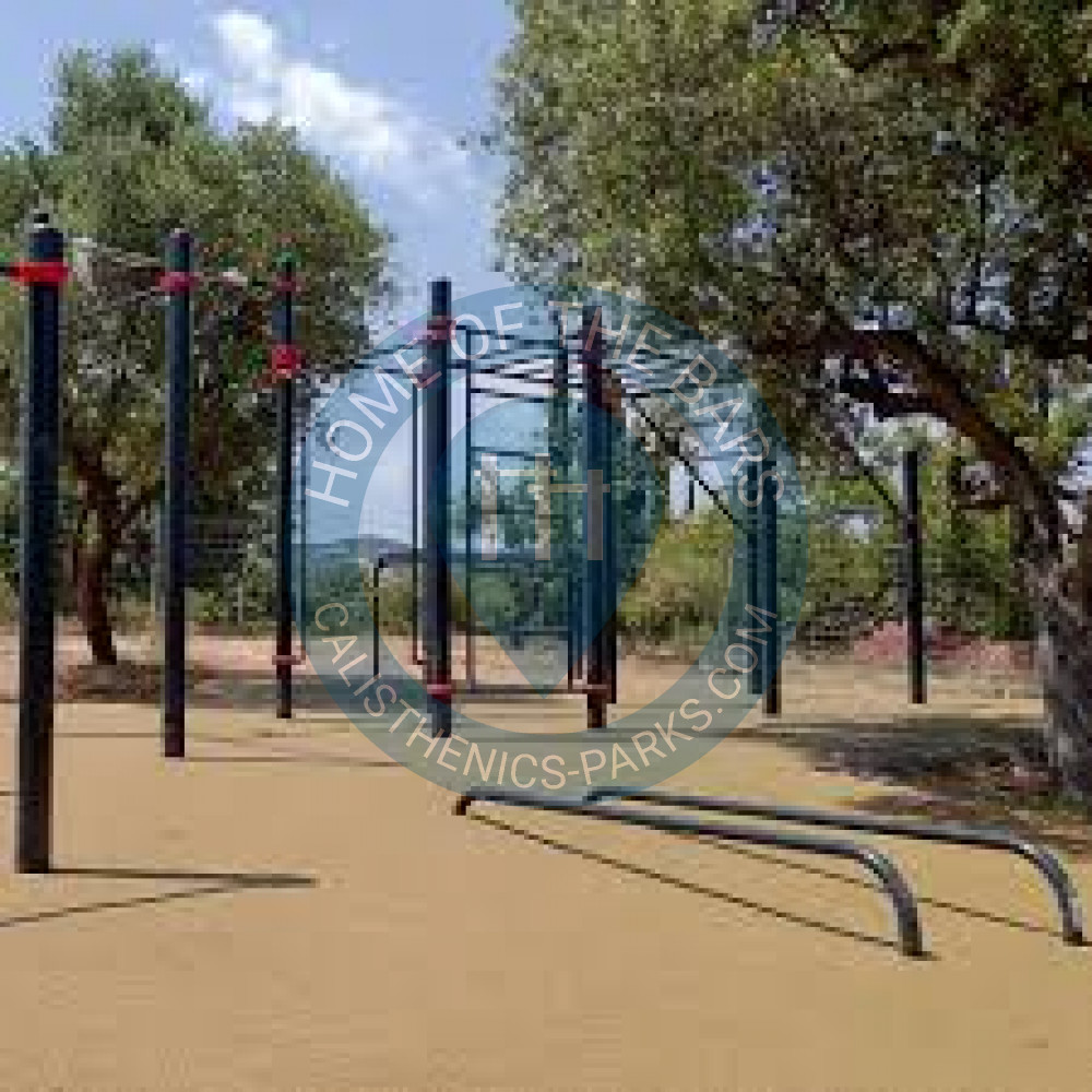 Warriors Path State Park Playground: Street Workout Parc Del