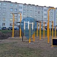 Namysłów - Parc Street Workout - Flowparks