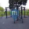 Calisthenics Stations - Nottingham - Outside university sports center