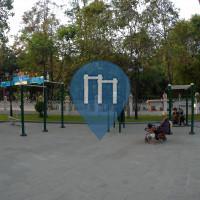 Phnom Penh - Exercise Park - Wat Phnom Workout Park