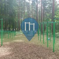 Riga - Calisthenics Park - Mežaparks