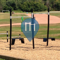 Toronto  - Outdoor Fitness Station - Riverdale Park East