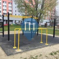 Petržalka - Parco Calisthenics - Fedinova street