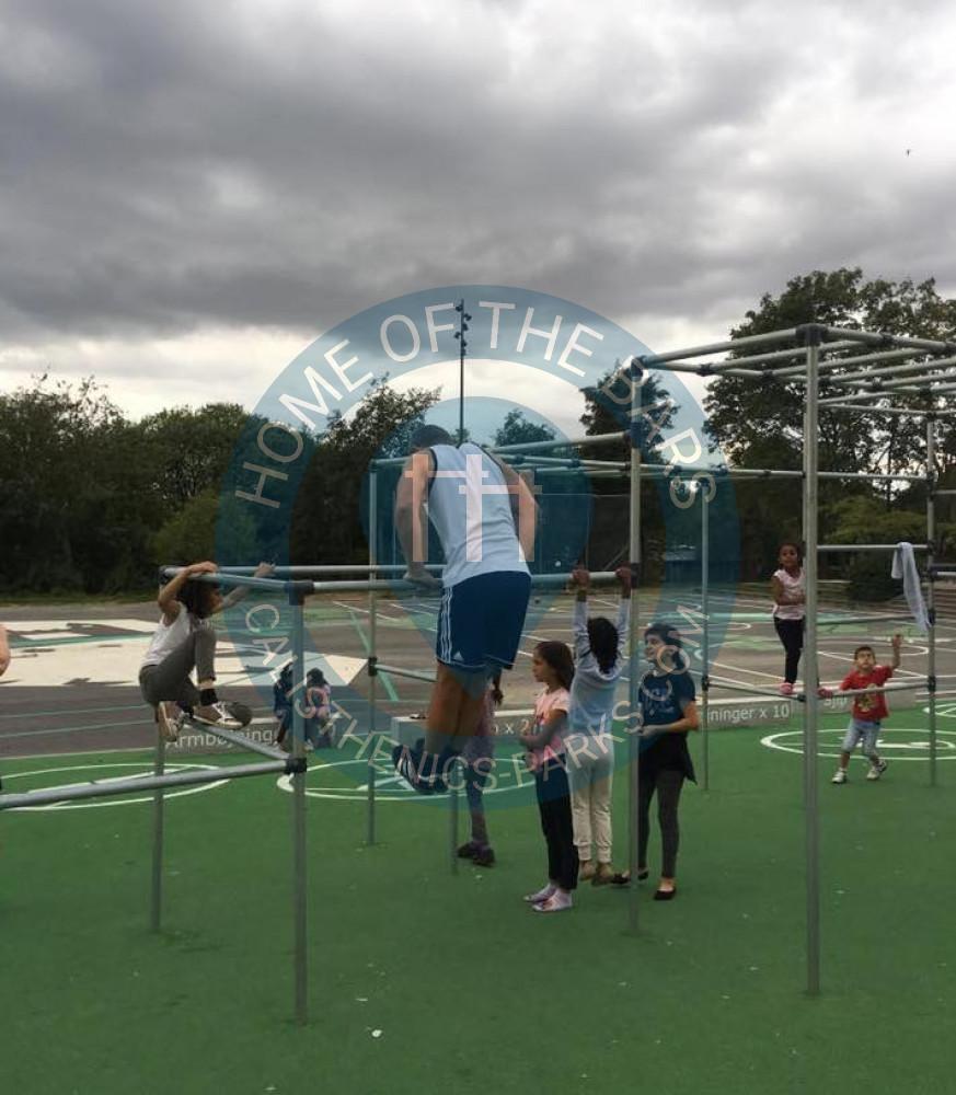 Warriors Path State Park Playground: Outdoor Parkour Park