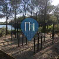 Klimmzugstange - Montpellier - Outdoor Fitness Lac des Garrigues