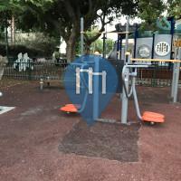 Tel Aviv - Outdoor Fitness Corner - Sol & Sissy Mark Garden