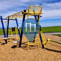 Calisthenics-Anlage - Santa Cruz - Outdoor Fitness UCSC Rec Center Park