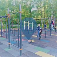 Рига - Воркаут площадка - Purvciems
