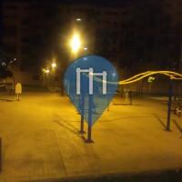Malaga - Calisthenics Stations - Colegio Público CEIP Almudena Grandes