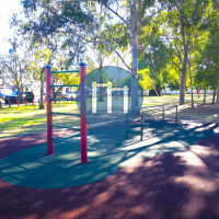 Barra per trazioni all'aperto - Brisbane - Outdoor Fitness Hawthorne Park