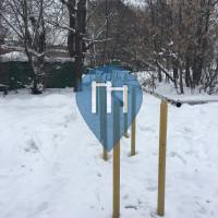 Moskau - Outdoor Fitnesspark - Khoroshyovsky District