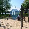 Riga  - Outdoor Fitnessplatz - Lucavsala recreational park