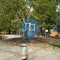Vienna (Brigittenau) - Outdoor Gym -  Anton-Kummerer Park
