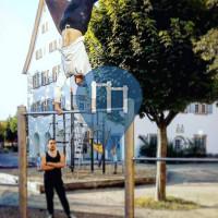 Kirchheim unter Teck - Pull up bar - Freihof Grundschule