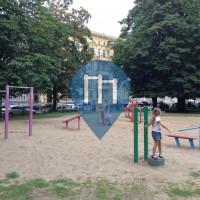 Щецин - Воркаут площадка - Plac Andersa