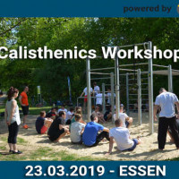 Calisthenics Workshop - Essen - powered by Playparc