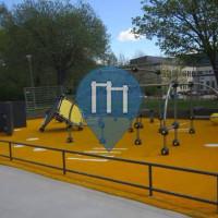 Uppsala - Parkour Park - Valsätraskolan
