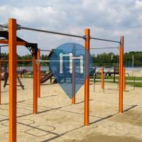 Воркаут площадка - Bestwina - Outdoor Fitness Ulica Malinowa 6