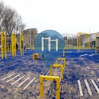 海牙 - 徒手健身公园 - Calisthenis park De Blinkerd