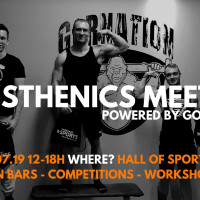 Calisthenics Meet-Up 5.0 in Münster powered by GORNATION