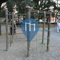 Флоренция - Перекладины под открытым небом - Piazza Torquato Tasso