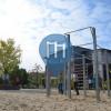 Halle an der Saale - Parque Calistenia - Playparc Calisthenics Park Elisabeth Gymnasium