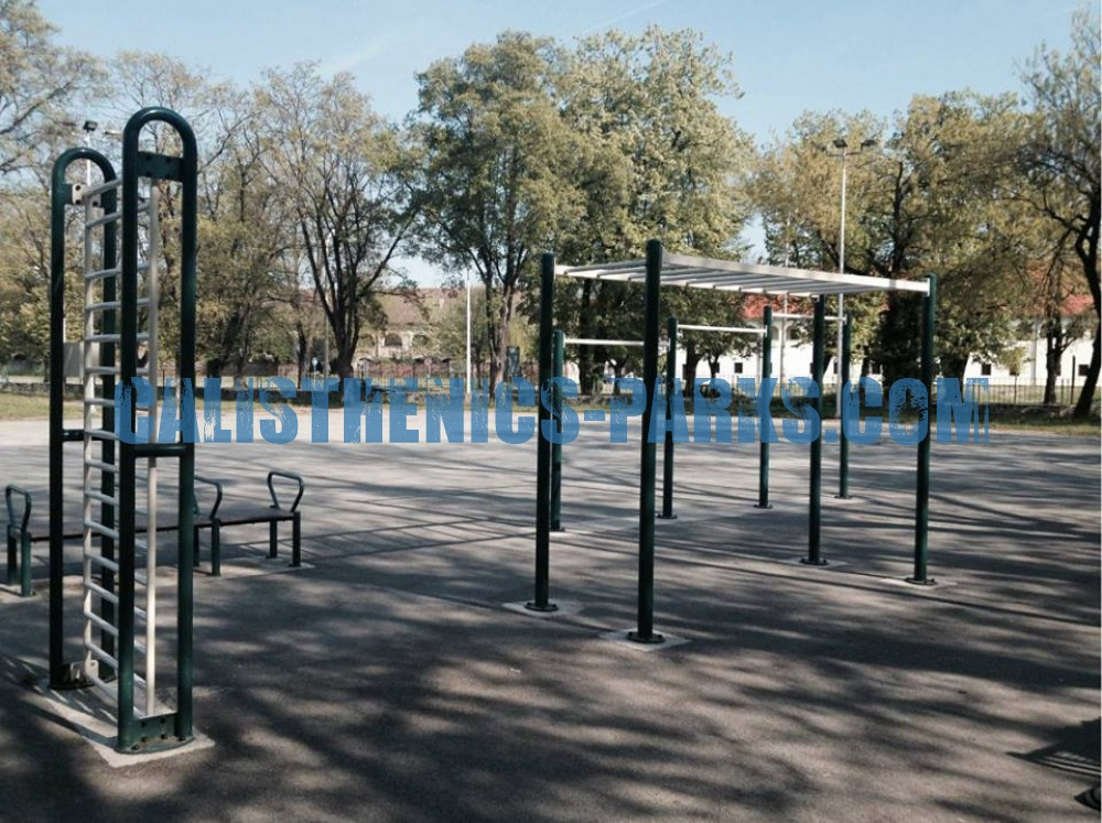 Osijek Street Workout Park Tvrđa Croatia Spot