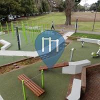 Sydney - Воркаут площадка - Turruwul Park - Moduplay