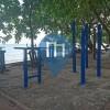 Beau Vallon, Seychellen - Outdoor-Fitnessstudio