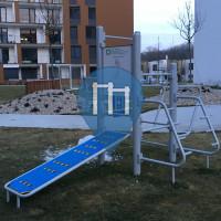 Bratislava - Outdoor fitness station - Petržalka