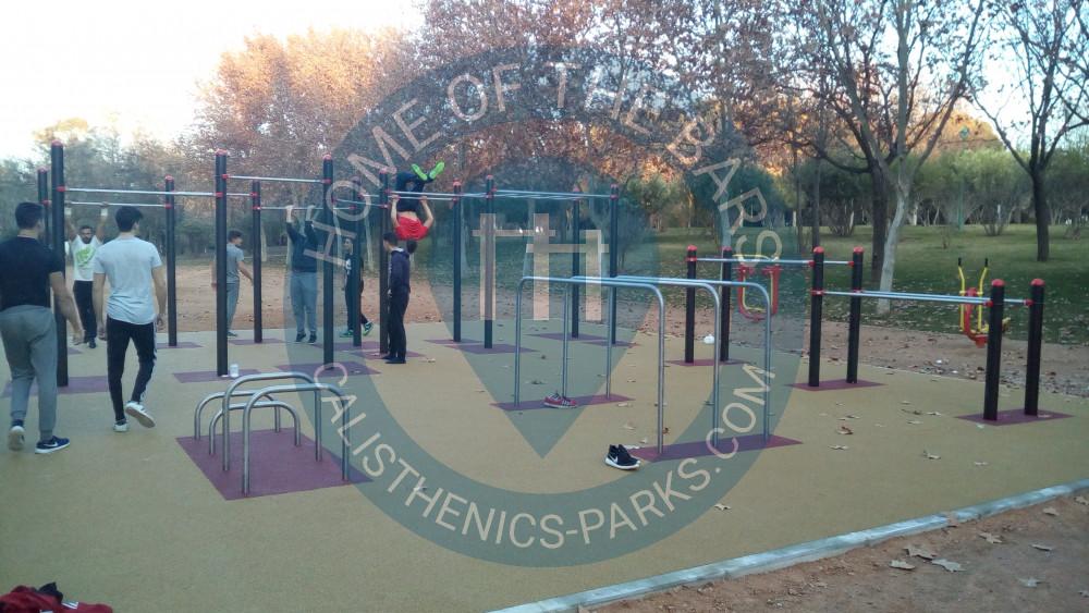 Circuito Parque Cruz Conde Cordoba : Córdoba parque calistenia cruz conde españa