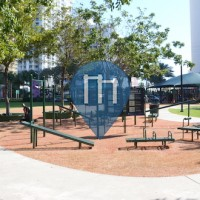 Exercise Park - North Miami Beach - Calisthenics Gym Town Center Park