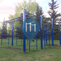 Calgary - Outdoor Exercise Gym - University Research Park