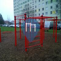 Szeged - Street Workout Geräte - Gyöngyvirág