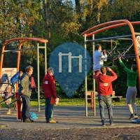 根特 - 徒手健身公园 - Rattendalepark