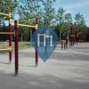 Moratalaz - Street Workout Park - Parque Cuna Verde de O'Donnell