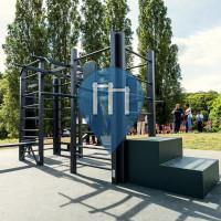 Saint-Cyr-l'École - Gimnasio al aire libre - Parc Forestier du Bois Cassé - Aire de fitness en accès libre