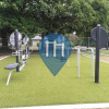 Seattle - Outdoor Exercise Station - Hiawatha Playfield